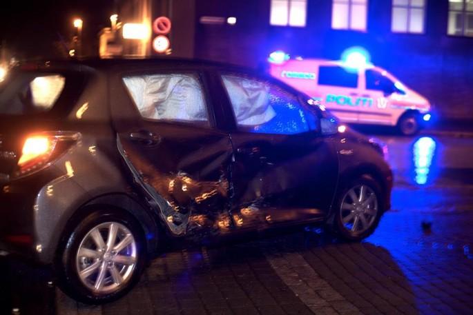 Bodø Nu » Tenåringer stjal bil, kjørte fra politiet og kolliderte med taxi